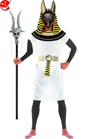 costume adulto halloween anubis il dio dei morti dell u0027antico egitto