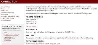 Royal Albert Hall Floor Plan Concert Halls Archives Uk Customer Service Contact Numbers Lists