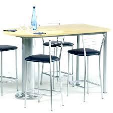 hauteur standard table de cuisine hauteur table bar cuisine haute pour gallery of best de salle a