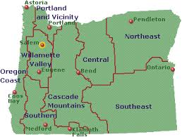 oregon map with cities oregon go northwest a travel guide