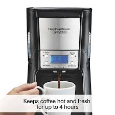 amazon com hamilton beach 12 cup coffee maker programmable