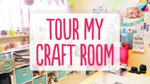 a tour of my craft room youtube