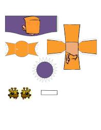 castle crashers orange princess template by ludabo98 on deviantart