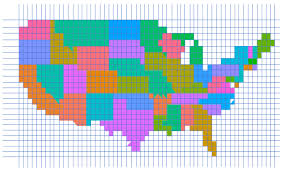 us state abbreviations map pixel maps in excel policy viz