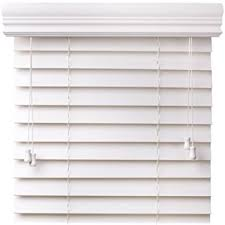 Hurst Blinds Amazon Com Premium 2 Inch Faux Wood Blinds Snow White 27 X 60
