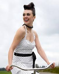 50s updo hairstyles 50s updo with pin curls lovetoknow