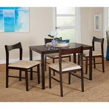 simple living 5 piece transitional dining set free shipping