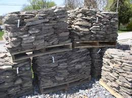 Landscape Rock Delivery by Pallets Of Stone Flagstone Boulders Cobblestone Delivery
