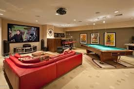 Big Game Room - interior design ideas for a games room rift decorators