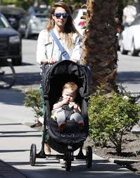 Baby Jogger Strollers Babies by Jessica Alba Was Seen Strolling With Baby Honor Through Los