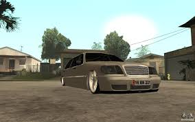 vip cars mercedes benz s600 v12 w140 1998 vip for gta san andreas