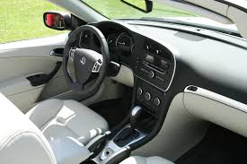 file saab 9 3 convertible 2008 interior jpg wikimedia commons