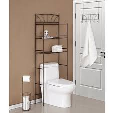 Dark Brown Bathroom Accessories by Over The Toilet Storage Cabinets Wayfair