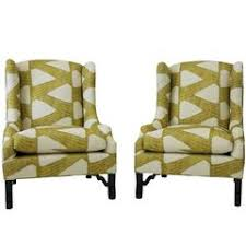 contemporary wingback chair contemporary wingback chairs 47 for sale at 1stdibs