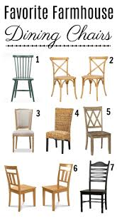 Farm House Dining Chairs Farmhouse Dining Room Decor Ideas Town Country Living