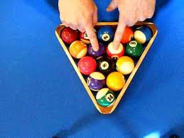 how to set up a pool table how to rack 8 ball billiards youtube