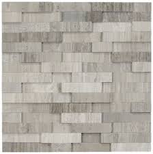 3d polished grey brick stone tile pebble tile shop