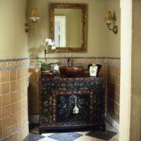 Rustic Bathroom Decor Ideas - bathroom design and decoration using decorative driftwood rustic
