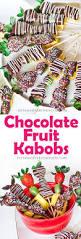 Chocolate Covered Strawberries Tutorial Chocolate Fruit Kabobs Tatyanas Everyday Food