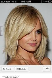 textured shoulder length hair layered hairstyles for medium length hair with side fringe best