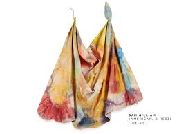 combining painting and sculpture with sam gilliam freeman u0027s