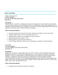 Qtp Resume Cover Letter For Vp Finance Position Help With Human Resource