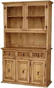 Rustic Pine Kitchen Cabinets by Rustic Pine Trastero Cupboard Mexican Furniture Furniture