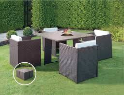 5 Piece Patio Dining Set by Resin Wicker Outdoor 5 Piece Dining Set Elite Resin Wicker 5
