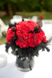 Centerpiece With Feathers by Centerpiece With Feathers Weddingbee