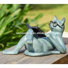 Outdoor Decor Statues Cat Sculpture Cat Sculpture Suppliers And Manufacturers At