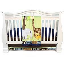 Cheetah Print Crib Bedding Set One Grace Place Jazzie Jungle Boy Infant Crib Bedding