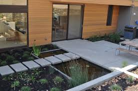 Backyard Pond Landscaping Ideas Dining Room Contemporary Pond Landscaping Ideas With Water