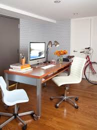 Small Home Office Desk Small Space Ideas For The Bedroom And Home Office Hgtv