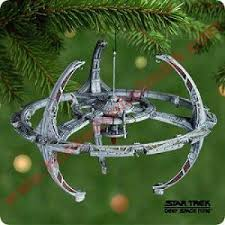2001 space station trek hallmark ornament