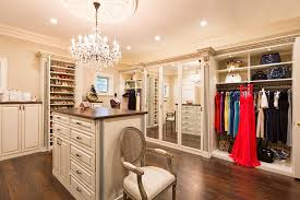 Closet Chandelier Traditional Closet With High Ceiling By Closet Factory Zillow