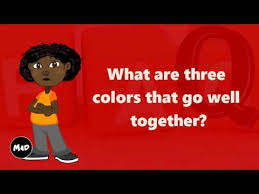 colors that go well with red what are three colors that go well together youtube