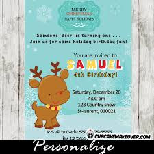christmas birthday invitations archives cupcakemakeover