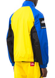 Blue Yellow And Black Flag Bp Flag Zip Up Jacket Black Pyramid Store