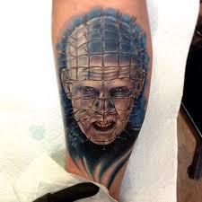 hellraiser tattoo pinhead on instagram