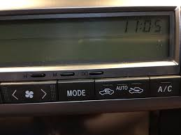 2003 lexus sc430 change clock to standard time clublexus