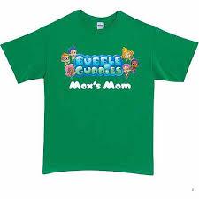 personalized bubble guppies logo shirt green walmart
