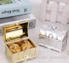 Treasure Chest Favors by Treasure Chest Favor Box Wedding Gift Boxes Box Gold And