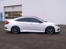 honda civic modified white 2016 ex l modified page 3 2016 honda civic forum 10th gen