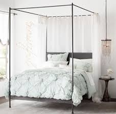 Iron Canopy Bed Caleigh Iron Canopy Bed