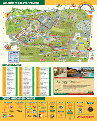 Usa Campus Map by Cal Poly Pomona Foundation Inc