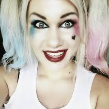 squad harley quinn a makeup look beauty on cut out keep