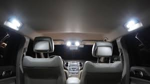 jeep grand cherokee interior 2013 jeep grand cherokee dodge durango led interior how to install