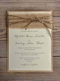 Make Wedding Programs Burlap Wedding Invitations Marialonghi Com