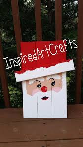 Wood Projects For Xmas Gifts by Best 25 Santa Crafts Ideas On Pinterest Christmas Crafts
