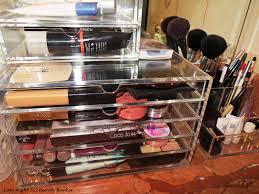 how to store makeup stylishly muji makeup acrylic box u2022 beauty
